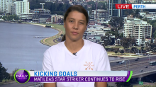 Sam Kerr's star continues to rise