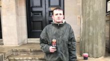 Homeless man waited in rain for hours to stop stranger's £450 being stolen