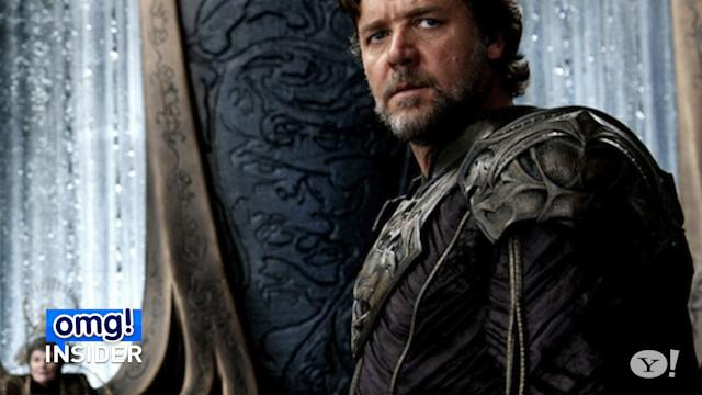 Russell Crowe and the 'Man of Steel' Spandex Challenge
