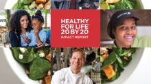 Aramark and the American Heart Association Report Significant Strides in Delivering Healthier Menus to Americans