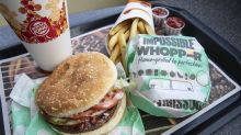 CEO of Burger King owner: 'We are all in' on plant-based foods