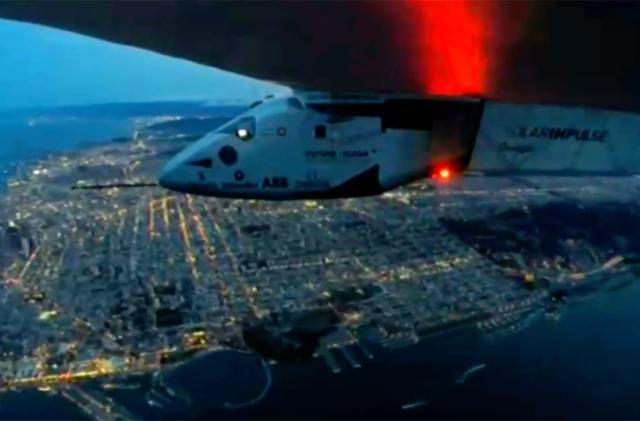 Solar Impulse 2 completes its flight across the Pacific