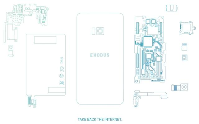 HTC's 'Exodus' blockchain phone is made for a decentralized future