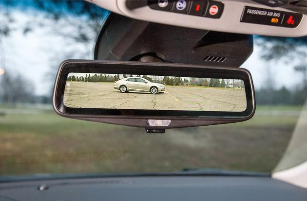 Cadillac's cars are getting smart rearview mirrors next year