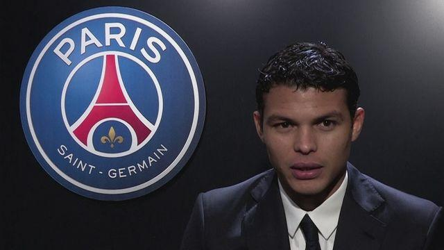 Thiago Silva celebrates making FIFPro World XI