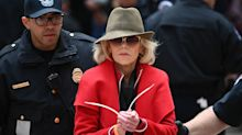 Jane Fonda, Rosanna Arquette, Catherine Keener arrested at climate change protest: 'Women bear the brunt'