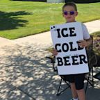 Boy, 11, Uses 'Ice Cold Beer' Sign to Sell Soda with 'Ingenious' Fine Print and Police Are Impressed