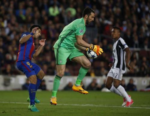 Buffon quer distância do Atlético de Madrid na semifinal da Champions