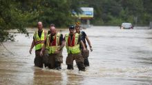 At least one dead and hundreds rescued after Hurricane Sally smashes into US Gulf Coast