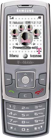 The Samsung Katalyst, T-Mobile's latest Hotspot @Home phone