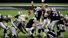 Raiders HC Jon Gruden explains why he decided to kick 54-yard field goal in fourth quarter