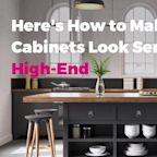 Here's How to Make IKEA Cabinets Look Seriously High-End