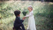 Mães fotógrafas fazem ensaio de casamento encantador com os filhos