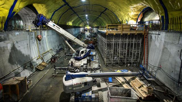 Digging NYC's Second Avenue Subway