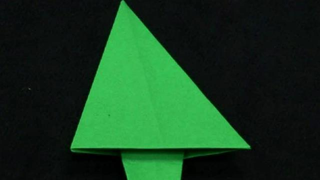 How To Create An Origami Christmas Tree