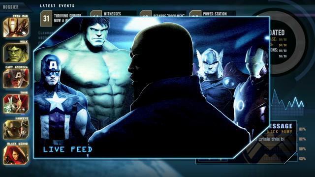 Marvel Unannounced Mobile Game - S.H.I.E.L.D. Briefing #1