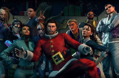 Saints Row 4 DLC aims to save Santa from the simulation