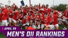 Men's Division II Rankings: Lenoir-Rhyne, Belmont Abbey Up After Conference Titles