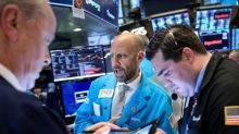 Global stocks rise, dollar drops as Fed chair boosts rate-cut hopes