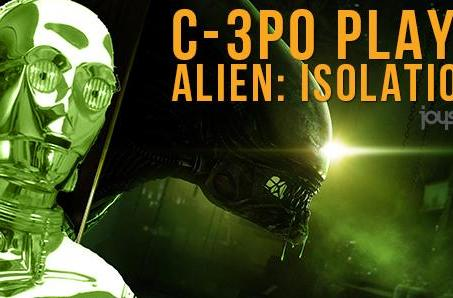 C-3PO made to suffer through Alien: Isolation
