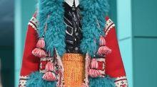 Moda extravagante en Milan Fashion Week
