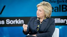 Hillary Clinton says she will 'never' rule out running for president, comes to Meghan Markle's defense