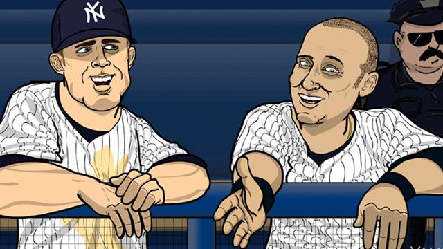 Image result for brett gardner  cartoon