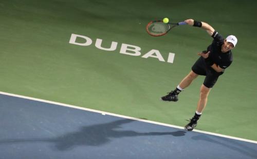 杜拜網球錦標賽首封王  莫瑞奪生涯45冠.