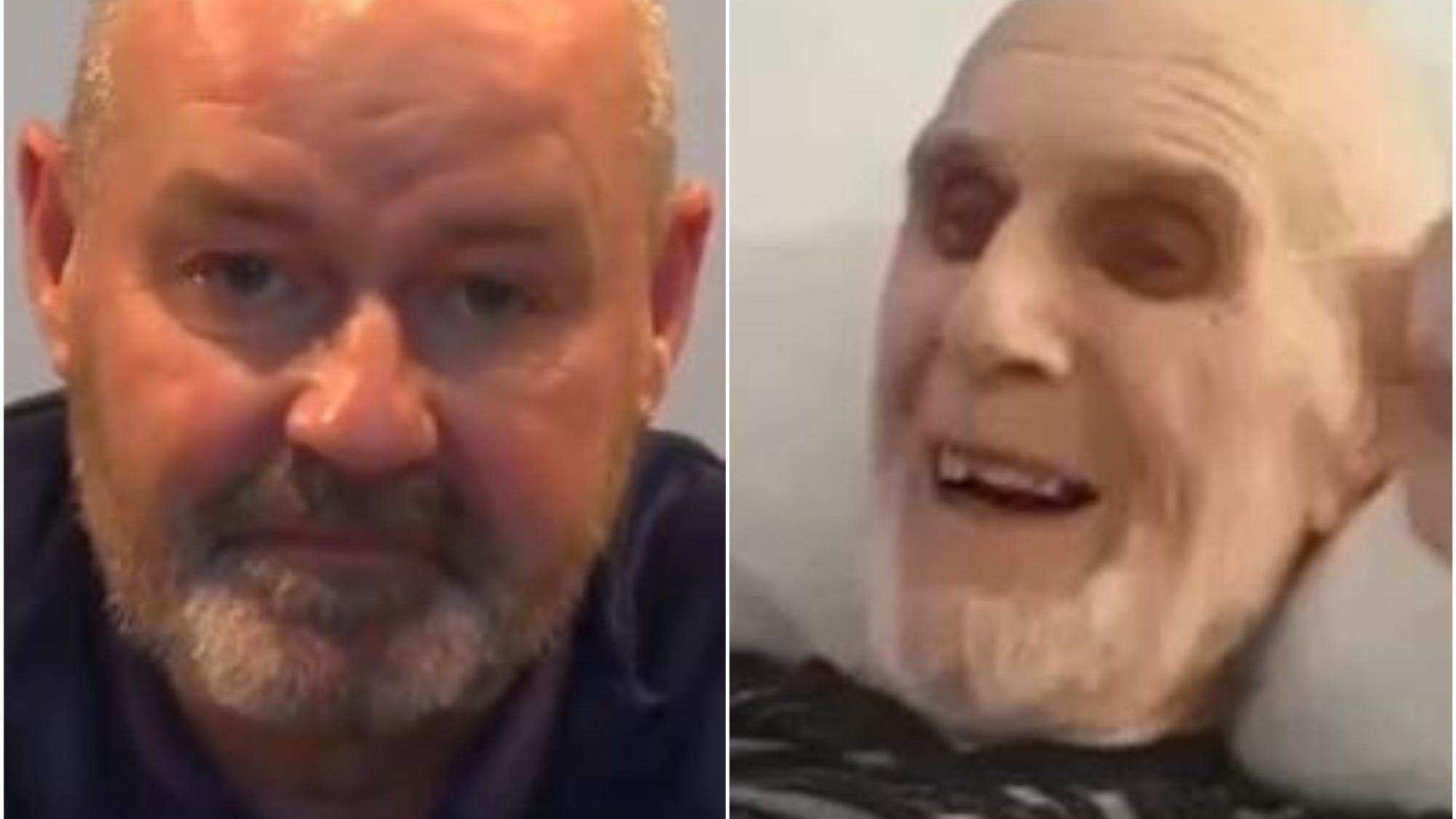 Hospice shares moment cancer patient hears from 'magic manager' Steve Clarke
