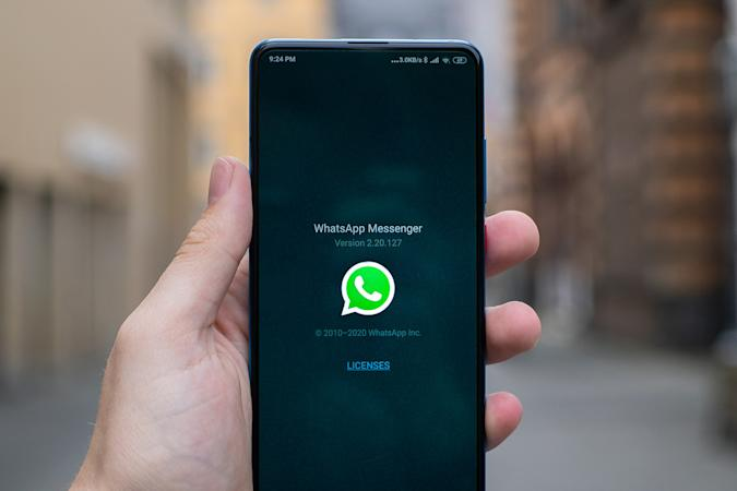 WhatsApp Messenger on Android phone