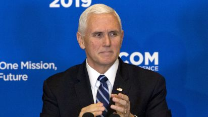 Pence amends claim that 'ISIS has been defeated'