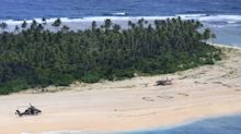 Message in sand leads to rescue of missing sailors on deserted Pacific island
