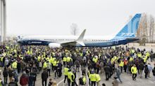 With hushed fanfare, Boeing Co. rolls out largest 737 MAX