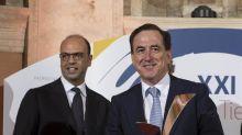 Los presidentes de Mapfre y de Cairo reciben los premios Tiépolo 2017 en Roma