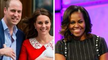 Michelle Obama's Message To The New Royal Baby Is Oh So Cute