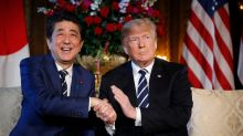 President Trump holds second day of meetings with Japan's Abe