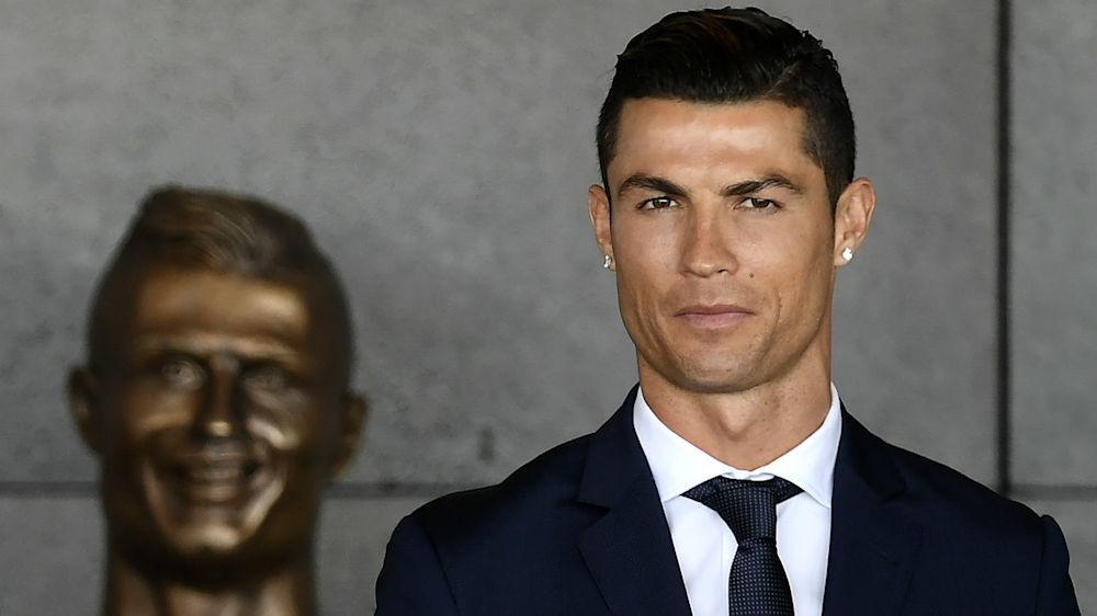 Ronaldo bust revealed at Real Madrid museum - but does it better Madeira airport effort?