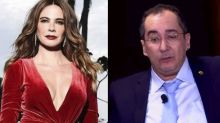Luciana Gimenez diz que Kajuru usa foro privilegiado para chamá-la de prostituta