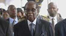 Mugabe makes appearance at a university graduation