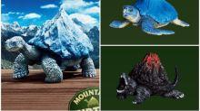 日本「熊貓之穴」烏龜扭蛋 龜殼變富士山超創意