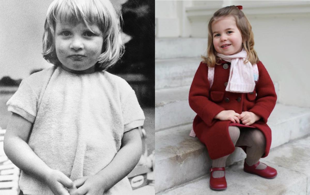 Princess Charlotte channels Princess Diana in latest ...