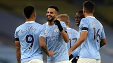 Riyad Mahrez hits hat-trick as Manchester City hammer Burnley again