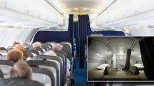 Flight attendant reveals the 'secret' bedrooms on long-haul flights