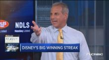 Disney's on its longest winning streak since 2013, so is ...