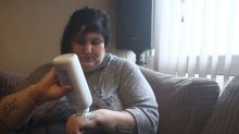 Mum with rare condition eats a tub of baby powder a day