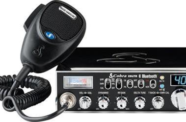 Cobra adds Bluetooth to CB radio, truckers rejoice
