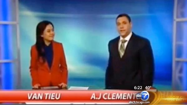 AJ Clemente, TV anchor, fired after 1st words on-air at 1st job profane