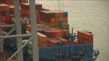 Trade boosts Asia, UK: but German exports slow