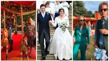 Inside Princess Eugenie's carnival-themed wedding party