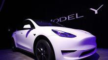 Tesla Gains Most Since 2013 on Panasonic Profit, Bullish Target